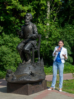 Statue of Boris Victorivitch Chergin