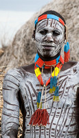 Decorated Karo Man