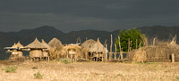 Karo Village before a Storm