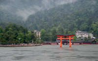 """Floating"" Torii Gate from the Ferry"