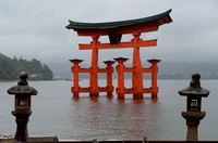 "The ""Floating"" Torii Gate from Land"