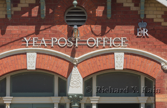The Yea Post Office Sign