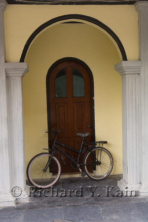 Banda Doorway with Bicycle