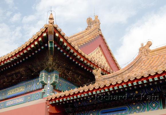 Roof Curves - Forbidden City