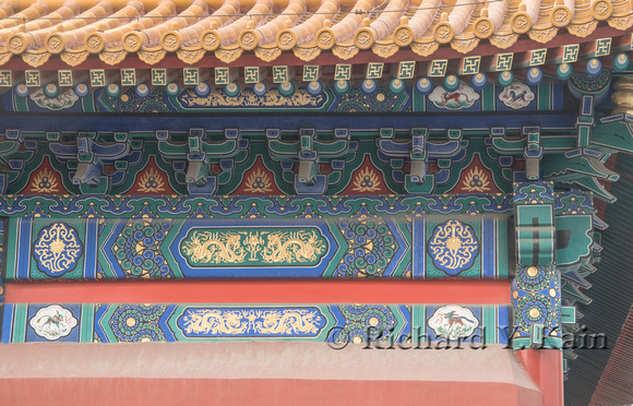 Decorative Detail in the Forbidden City
